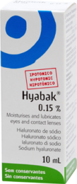 Image of a box of Hyaback 10ml drops