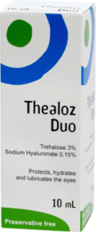 Image of a box of Thealoz Duo 10 ml drops