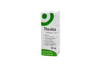 Image of a box of Thealoz 10ml drops