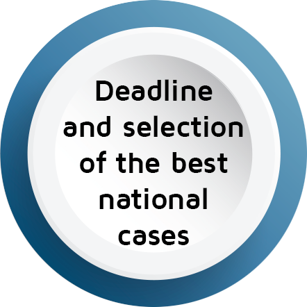 Selection of the best national cases