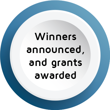 Winners announced and grants awarded