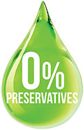 Preservative free badge.