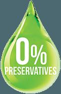 Preservative free badge.
